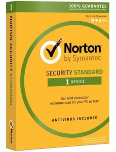 SYMANTEC NORTON SECURITY STANDARD 1U / 12M PUDEŁKO