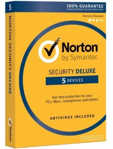 SYMANTEC NORTON SECURITY DELUXE 5U / 12M PUDEŁKO
