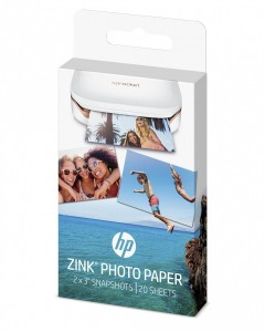 PAPIER HP W4Z13A 20 STRON ZINK PHOTO PAPER