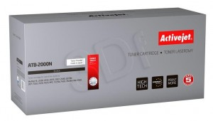 TONER ACTIVEJET ATB-2000N BROTHER TN2000 BLACK