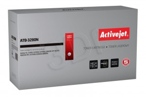TONER ACTIVEJET ATB-3280N BROTHER TN3280 BLACK