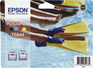 TUSZ ORYGINAŁ EPSON T5844 50 SHEETS PicturePack