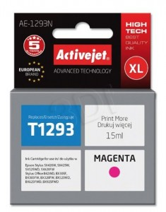 TUSZ ACTIVEJET EPSON T1293 AE-1293 MAGENTA