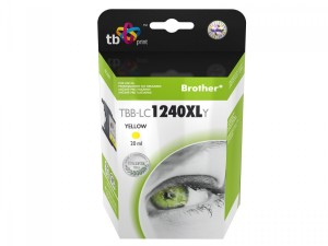 TUSZ BROTHER TB PRINT TBB-LC1240XLY LC1240 YELLOW