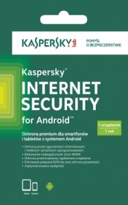 KASPERSKY INTERNET SECURITY FOR ANDROID 1USER 1ROK