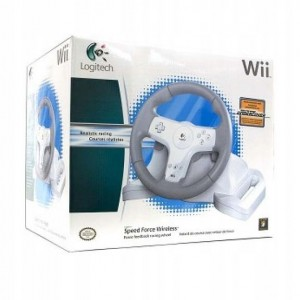 KIEROWNICA LOGITECH WII SPEED FORCE WIRELESS BOX