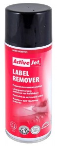 ACTIVEJET PIANKA DO ETYKIET LABEL REMOVER 400ML