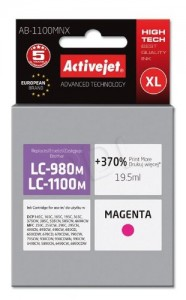 TUSZ ACTIVEJET BROTHER LC1100 AB-1100MNX MAGENTA