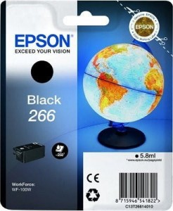 EPSON C13T26614010 Tusz Epson black 266 WorkForce WF-100W
