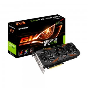 Gigabyte Geforce GTX1070 G1 Gaming 8G GV-N1070G1 GAMING -8GD